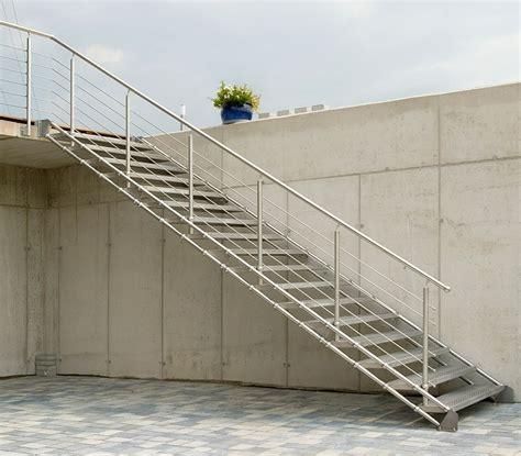 edelstahl treppe edelstahltreppe quattrostep gs treppen shop