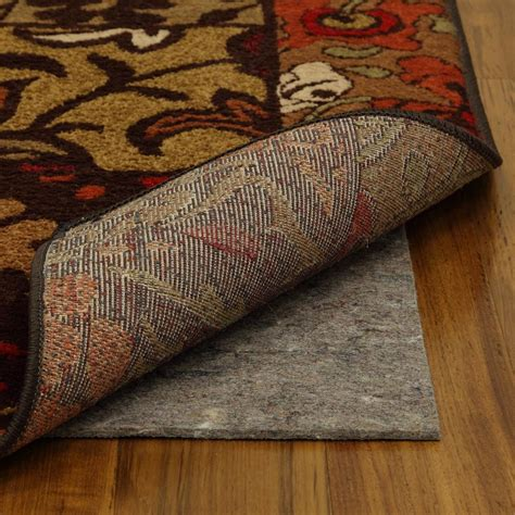 mohawk rug pad mohawk home 2 ft 6 in x 9 ft 6 in dual surface rug pad 469337 the home depot