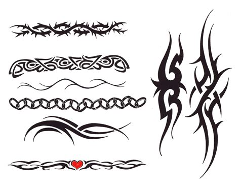 tribal tattoo bands arm bands tribal arm bands home designs