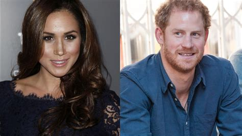 prince harry girlfriend prince harry accuses media of harassing girlfriend meghan