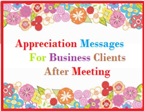 thank you messages business clients