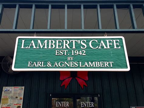great river road 22 lambert s cafe sikeston mo