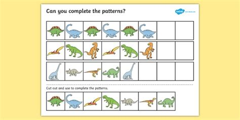 pattern worksheet twinkl free worksheets 187 complete the pattern worksheet free