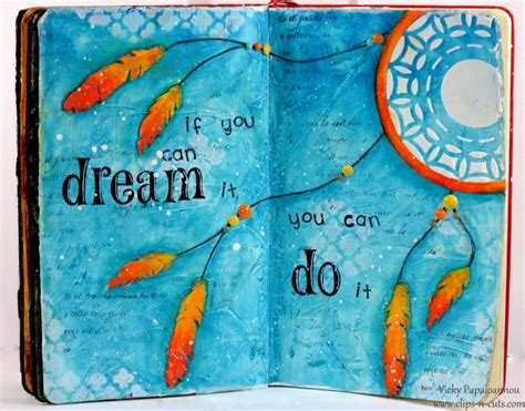 painting pages journal page if you can it n cuts