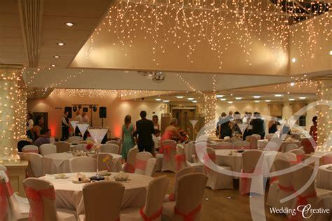venue dressing  orsett hall wedding creative