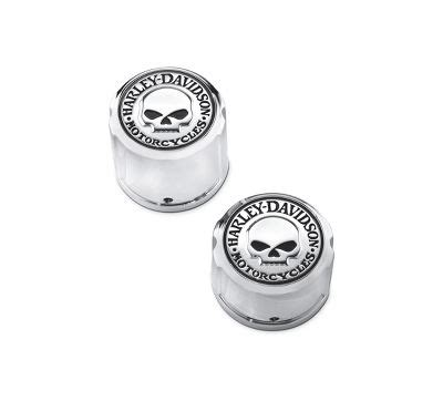 Willy G Axle Nut Harley Davidson willie g skull rear axle nut covers rear end trim official harley davidson store
