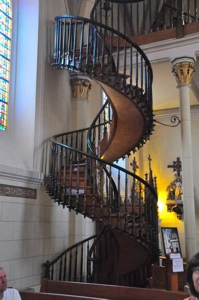 loretto chapel staircase photo