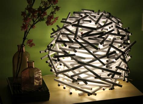 How To Make A Paper Light Shade - diy how to make a bird s nest l shade out of