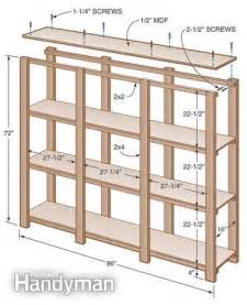 wooden storage shelves plans 25 best ideas about garage shelving plans on
