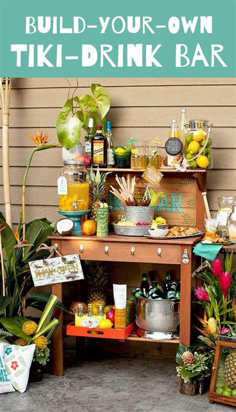 Build Your Own Tiki Bar How To Build A Tiki Bar Easy Woodworking Projects Plans