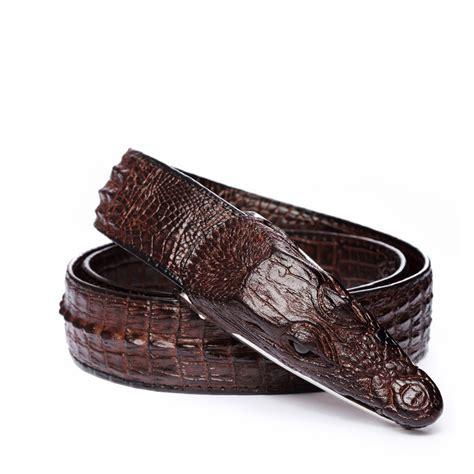 Ikat Pinggang Ikat Pinggang 3d Model Crocodile Black Jakartanotebook