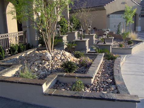 front yard conversions las vegas pool builder designer and contractor greencare net
