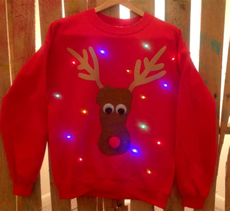 light up christmas sweater from winsumdesign on etsy ohhh my