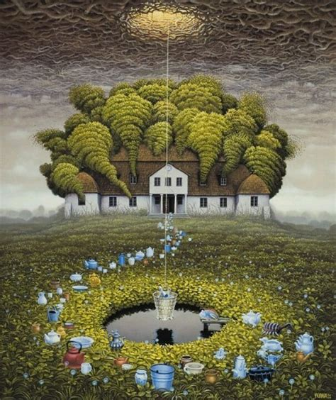 Yerka Paints Like An by 1000 Images About Jacek Yerka On Fantastic