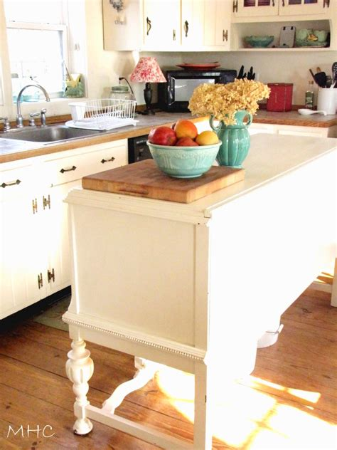 Buffet Kitchen Island Turning A Buffet Sideboard Into A Kitchen Island