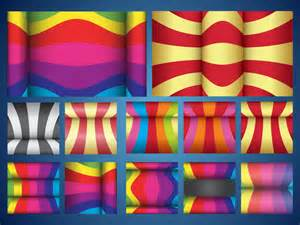Colorful background patterns is dynamic and eye catching rich colors