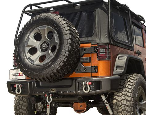 rugged ridge spartacus rear bumper autoaccessoriesgarage