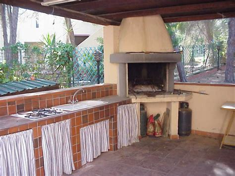 cucine con barbecue cucina in muratura per esterni con barbecue