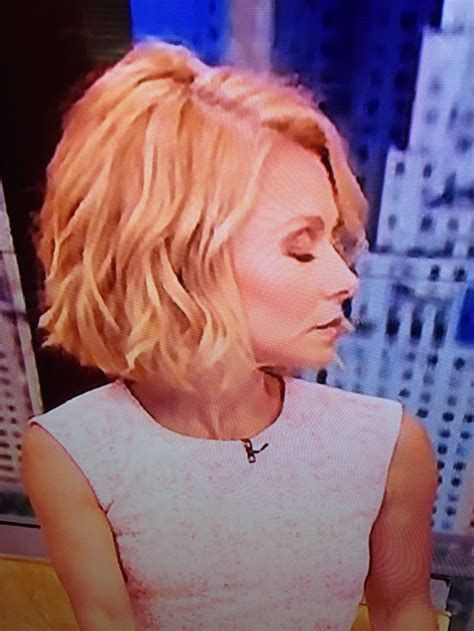 kelly ripa bob wave hair pinterest kelly ripa bobs kelly ripa hair haircuts pinterest kelly ripa i