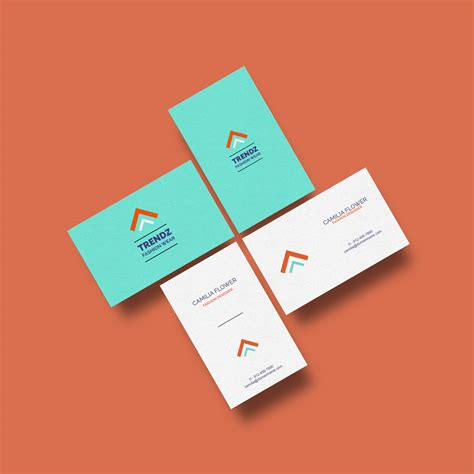 template mockup business cards mockup free template