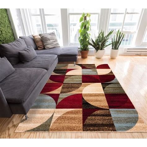 easy to clean area rugs 93 dining room rugs easy to clean deco rings geometric modern casual rug 3x10 27 x 9