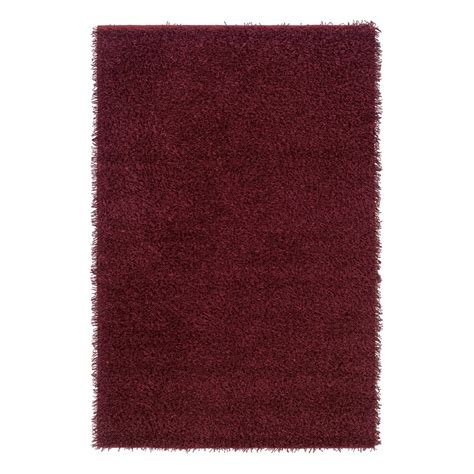 burgundy shag rug rizzy home km2320 kempton burgundy shag rug discount furniture at hickory park furniture galleries