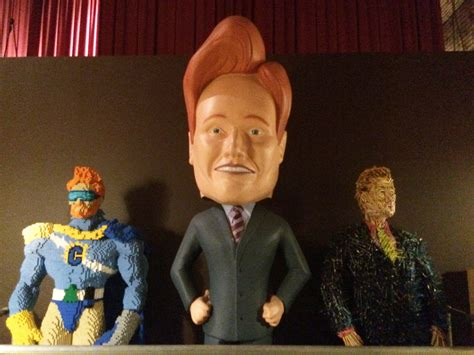 bobblehead conan a 17 foot bobblehead and other things you ll find