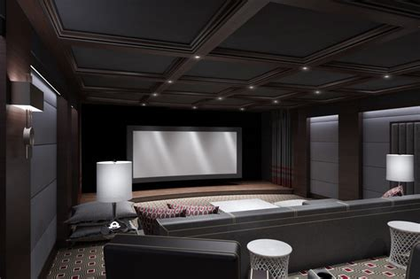 Home Cinema Interior Design by Ct Home Theater Contemporary Home Cinema New York