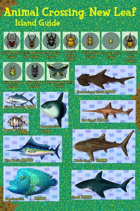 acnl hair list animal crossing new leaf fish and bugs guide animal