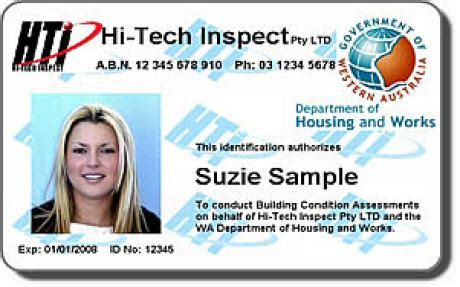 government identity card template 6 employee id card template psd website