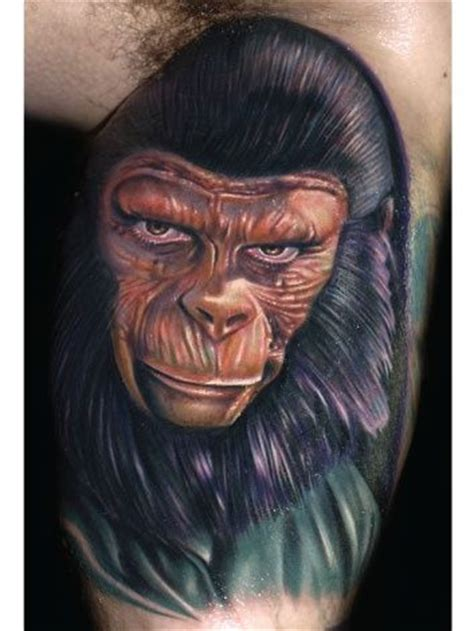 roman abrego tattoo planet of the apes and tattoos and on
