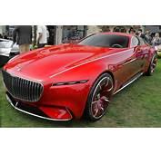 Vision Mercedes Maybach 6 Walk Around