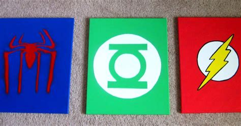Champagne thursdays superhero canvases round two