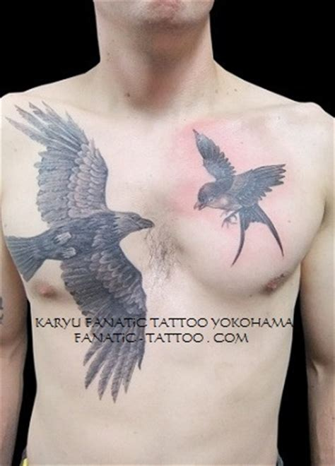 crow japanese tattoo angel wings tattoos hawaiian