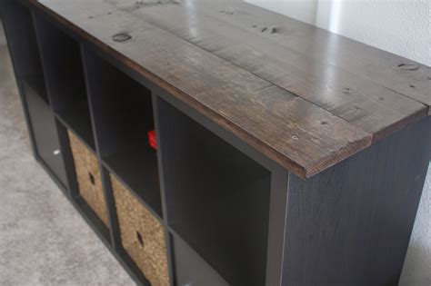 ikea tv cabinet hack ikea kallax hack ikea expedit hack very easy and small