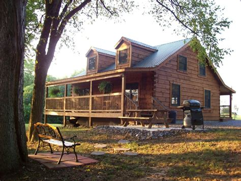 authentic log cabin to shenandoah homeaway