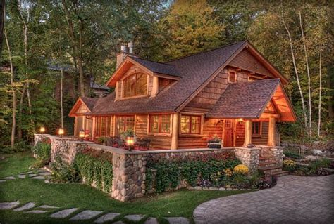Cabin Home by Absolutely Wonderful Sylvan Lake Cabin Home Design