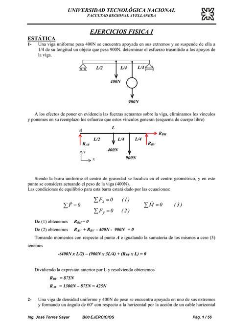 Ejercicio de Física Propuesto