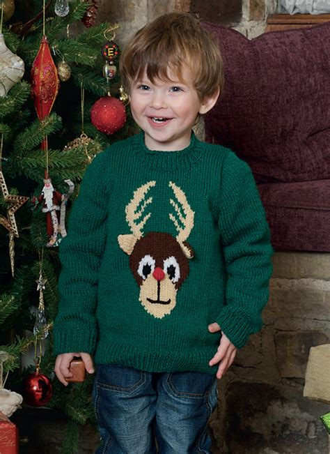 patons childrens knitting patterns free free pattern children s knitted reindeer jumper in