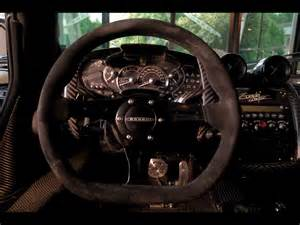 Steering Wheel Zonda 2009 Pagani Zonda Cinque Steering Wheel 1280x960