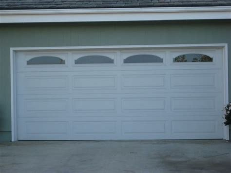 Garage Door Panel With Windows 18 Best Images About Panel Garage Doors On Traditional Residential Garage