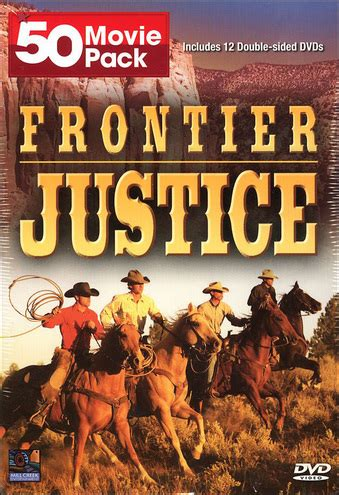 western classics 50 pack 12 50 pack frontier justice 12 disc import dvd