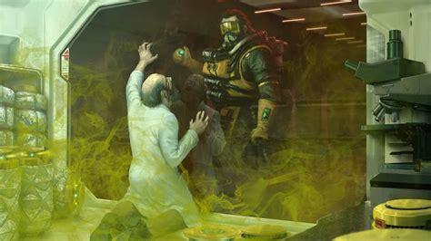 apex legends caustic art    wallpaper