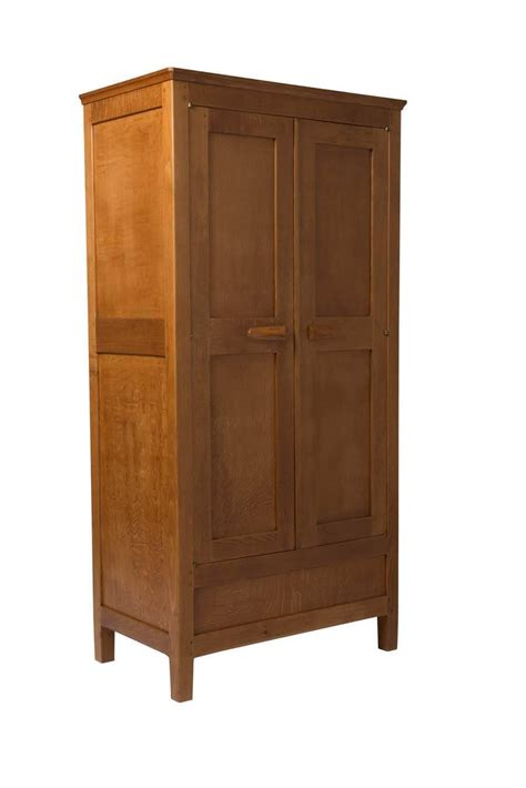 early gordon oak wardrobe for sale at 1stdibs