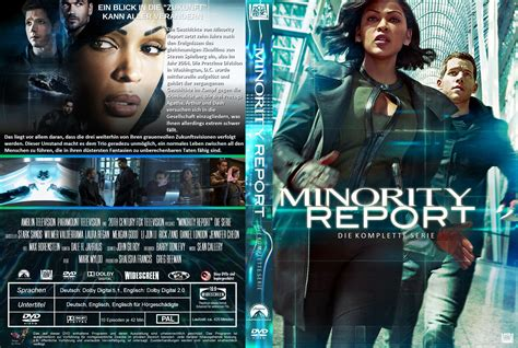 Cover Tv By Request 1 minority report the serie dvd cover labels 2015 r2 german custom