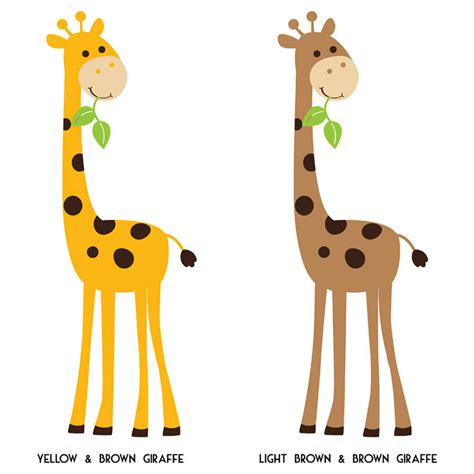 giraffe wall stickers monkey branch and giraffe wall stickers by parkins