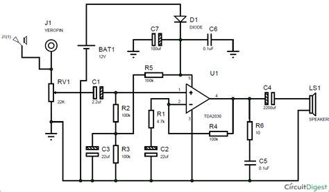 circuit diagram  subwoofer amplifier  ic tda