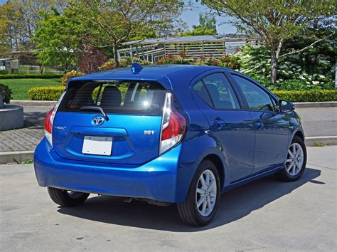 2015 Toyota Prius C Review 2015 Toyota Prius C Technology Road Test Review