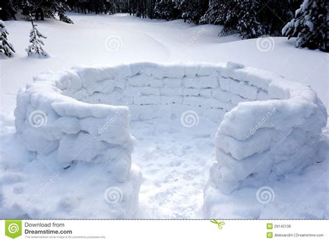 school in snow royalty free stock image image snow fort royalty free stock photos image 29142138