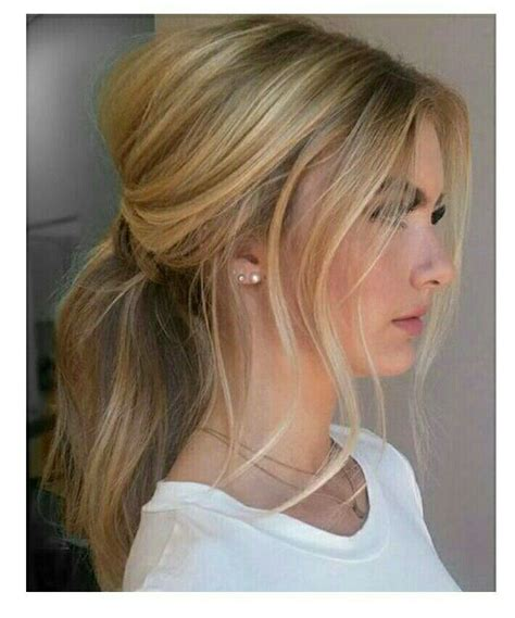 ponytail haircut where to position ponytail 25 best ideas about messy ponytail tutorial on pinterest